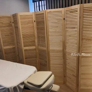 Ширма деревянная из восьми створок JenDi 320x180 см