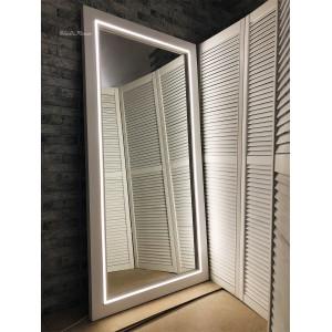 Зеркало с подсветкой JenDi 180х90 Белое